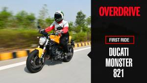 Ducati Monster 821 review