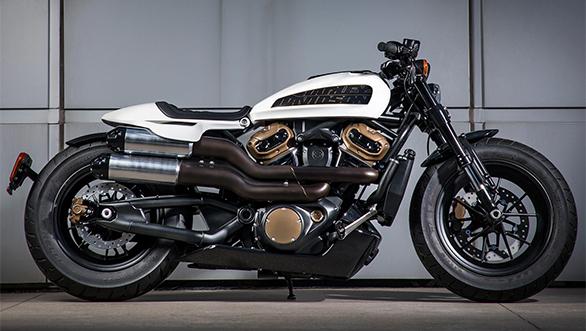 Harley-Davison Custom 1250
