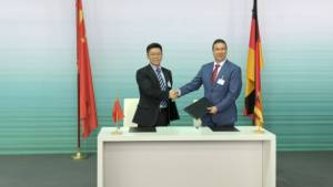 Audi and Huawei sign MoU for strategic co-operation for the development of Intelligent Connected vehicles