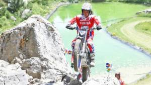2018 FIM Trial-E Cup: Yamaha's Kenichi Kuroyama rides TY-E electric trials bike to win in first two rounds