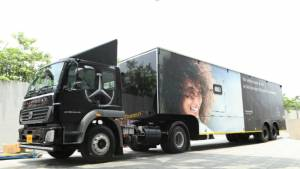 Mercedes-Benz launches a new mobile service initiative for Tier - 2 and Tier - 3 called 'Service on Wheels'