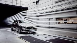 Mercedes-Benz A-Class Sedan teased as the most aerodynamic production car