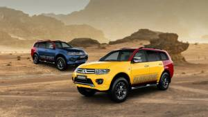 Mitsubishi Pajero Sport now available with Splash customisation package
