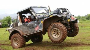 Rainforest Challenge India 2018: Gerrari Off-roaders' Sanbir Singh Dhaliwal holds onto lead at the end of nine stages