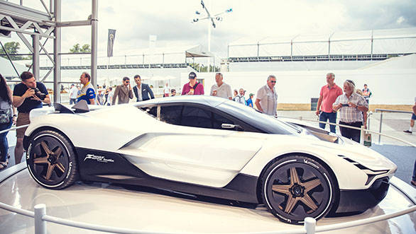 Image gallery: Vazirani Automotive showcases Shul, India's first hypercar at the Goodwood Festival of Speed