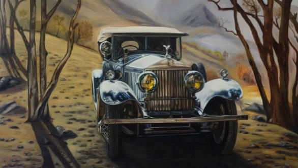 Indian Automotive Artist Vidita Singh to exhibit her art work at Pebble Beach Concours