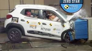 Renault Kwid fails ASEAN NCAP safety test, gets a zero-star rating