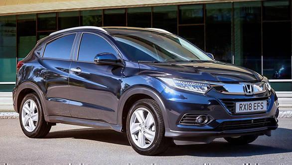 2019 Honda HR-V crossover facelift unveiled, to be powered by 1.5-litre i-VTEC