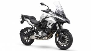 Image gallery: Benelli TRK 502 adventure tourer motorcycle