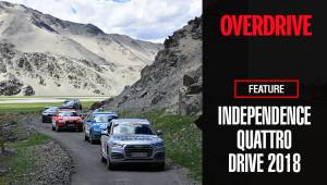Independence Quattro Drive 2018 in association with Audi | Live Life In OVERDRIVE