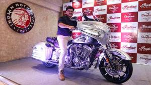 2018 Indian Chieftain Elite launched in India at Rs 38 lakh