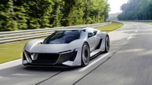 Monterey Car Week 2018: Audi PB18 E-Tron Concept unveiled