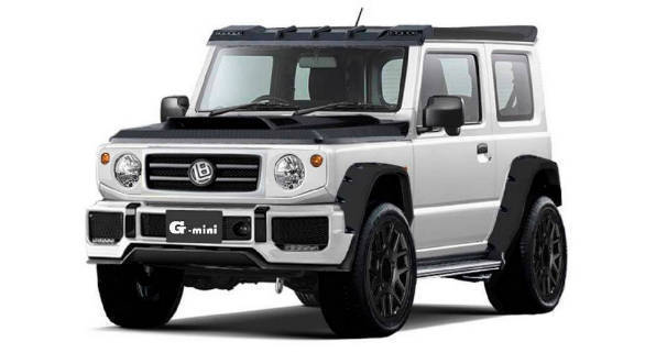 Liberty Walk transforms the Suzuki Jimmy into a mini G-Class