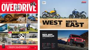 The 20th Anniversary September 2018 issue of OVERDRIVE in now out on stands!