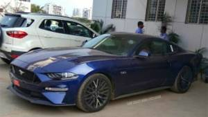 2018 Ford Mustang GT spotted in India