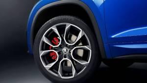 Skoda Kodiaq RS performance SUV teased ahead of Paris Motor Show unveil