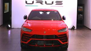 India gets its first Lamborghini Urus SUV