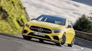 Mercedes-AMG A35 hot hatchback revealed ahead of Paris Motor Show