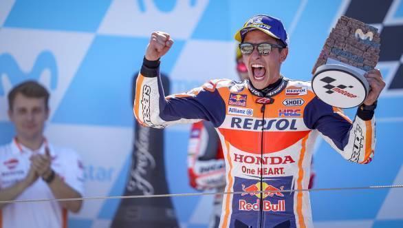 MotoGP 2018: Marc Marquez claims Aragon GP victory