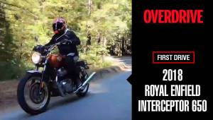 Royal Enfield Interceptor 650 Quick Ride Review