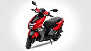 2018 TVS Ntorq 125 launched in Metallic Red paint option