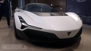 Vazirani Shul electric hypercar concept showcased in Mumbai