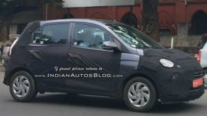 Hyundai AH2(new Santro) spotted in a new paint shade