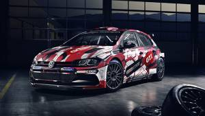 Volkswagen Polo GTI R5 rally car revealed in new livery for 2018