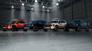 Kia Telluride SUV shown at SEMA in four design themes
