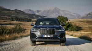 2019 BMW X7 SUV listed on BMW India website