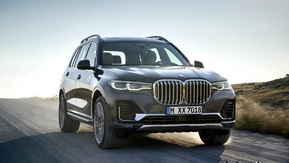 2019 BMW X7 SUV unveiled internationally