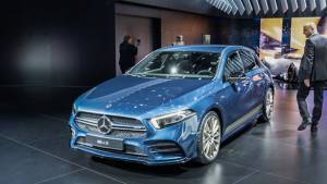 2018 Paris Motor Show: Mercedes-AMG A35 showcased, to rival BMW M140i