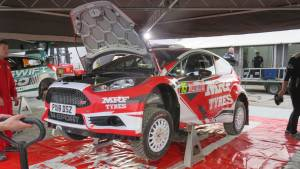 WRC 2018: Successful outing for Gaurav Gill and Team MRF at Wales Rally GB