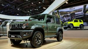 Image gallery: Suzuki Jimny SUV shown at 2018 Paris Motor Show