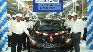 Tata Motors' Sanand plant crosses 5,00,000 production mark