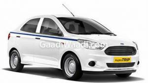 Pre-facelift Ford Aspire to continue in the commercial segment as the Aspire Trip