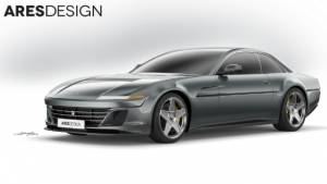 Ares Design Project Pony is a modern take on the Ferrari 412