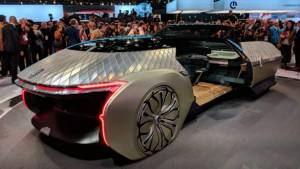 2018 Paris Motor Show: Renault debuts the EZ-Ultimo luxury shared mobility concept