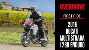 First Ride - 2019 Ducati Multistrada 1260 Enduro Video Review