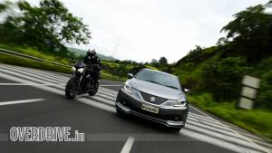 BalleRS: Maruti Suzuki Baleno RS or Triumph Street Triple RS?