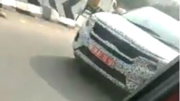 Production version of the Kia SP Concept spotted testing in new spy video