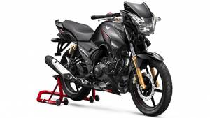 TVS Apache series updated with supermoto ABS and other minor updates