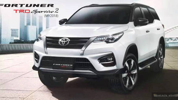 Toyota Fortuner TRD Sportivo 2 SUV unveiled in Thailand ...