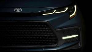Toyota Corolla Sedan teased ahead of November 16 global debut