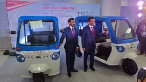 Mahindra Treo electric three-wheeler range with lithium-ion battery pack launched in India at Rs 1.36 lakh