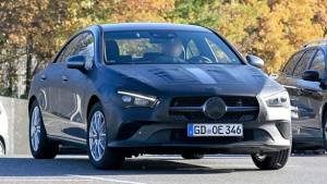 Spied: 2019 Mercedes-Benz CLA sedan caught testing