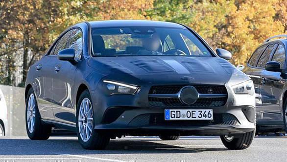 Spied: 2019 Mercedes-Benz CLA sedan caught testing
