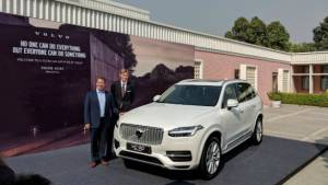Volvo to assemble plug-in hybrid XC90 in India