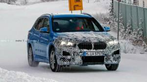 Refreshed 2019 BMW X1 SUV spotted testing in Europe