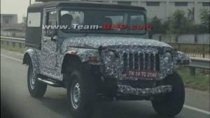 2020 Mahindra Thar 4X4 spotted testing again